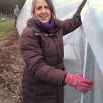 First polytunnel cover 06-03-11 12