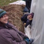 First polytunnel cover 06-03-11 13